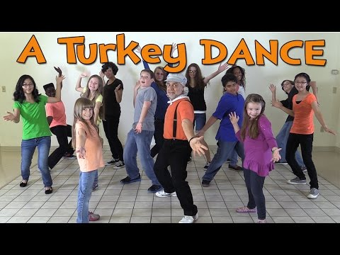 Thanksgiving Songs for Children - A Turkey Dance - Dance Songs for Kids by The Learning Station