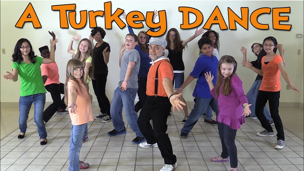 thanksgiving songs for children a turkey dance dance songs for kids by the learning station youtube - Pictures Of Turkeys For Kids 2