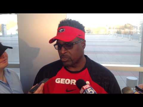 Tracy Rocker Spring Practice 4.1.14