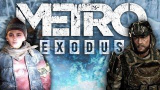 DLC для METRO: EXODUS - ПЕРВАЯ ИНФОРМАЦИЯ (Новосибирск и Владивосток: Хлебников и Сэм)