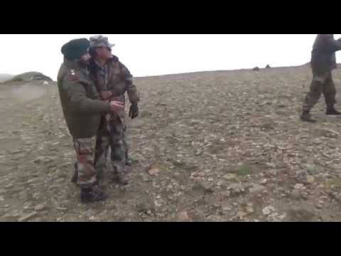 India और China के सैनिकोन मै सर्हद पे झदप: Confrontation at the border of Chinese and Indian Troops.