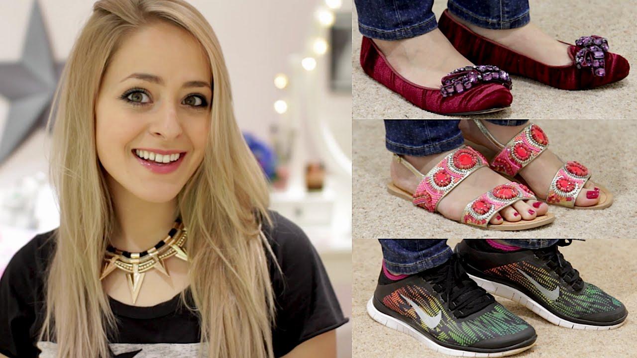 My Shoe Collection Flats Fleur De Force Youtube