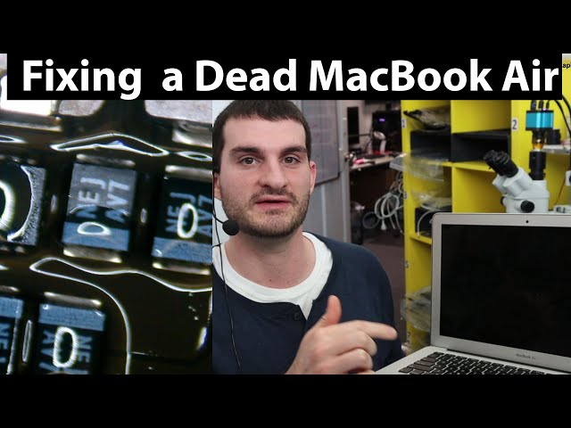 Fixing a Dead MacBook Air A1466 - Logic Board Repair
