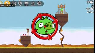 Angry Birds Original Game Chinese Version Power-ups ps University Levels and Mighty Eagle Levels