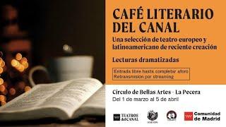 Entradas Café literario del Canal en Madrid | Teatros del Canal