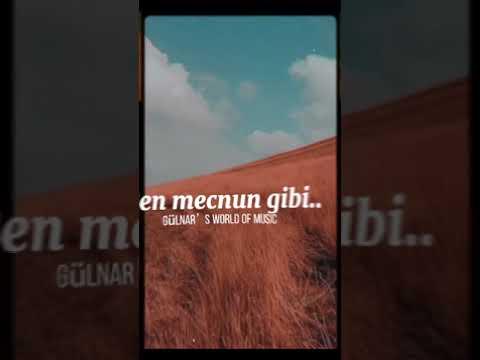 İlyas Yalçıntaş ft Enbe orkestrası || Mecnun kısa versiyon (Lyrics video)