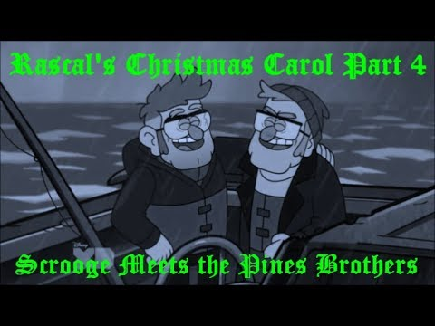 Rascal's Christmas Carol Part 4-Scrooge and the Pines Brothers (Marley and Marley)