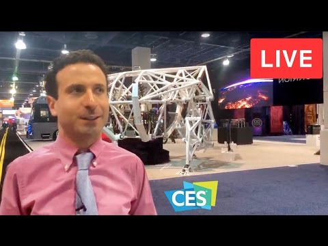 LIVE FROM CES 2017 (EXCLUSIVE LOOK at CES TECH!)