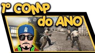 CS:GO - 1° COMP DO ANO - COM OS AMIGOS - DUST 2 CHOVENDO