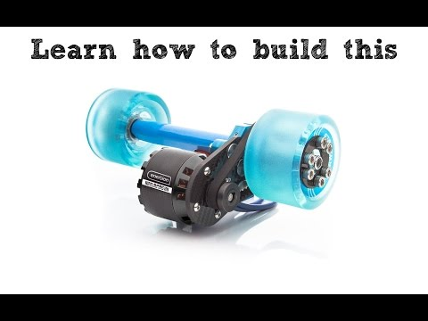 How to Install Electric Skateboard Motor Mount, Belt & Pulley | Instructional Guide