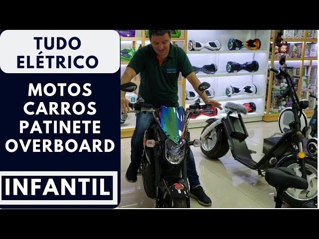 MOTOS, CARRINHOS E PATINETES ELÉTRICOS NO PARAGUAI