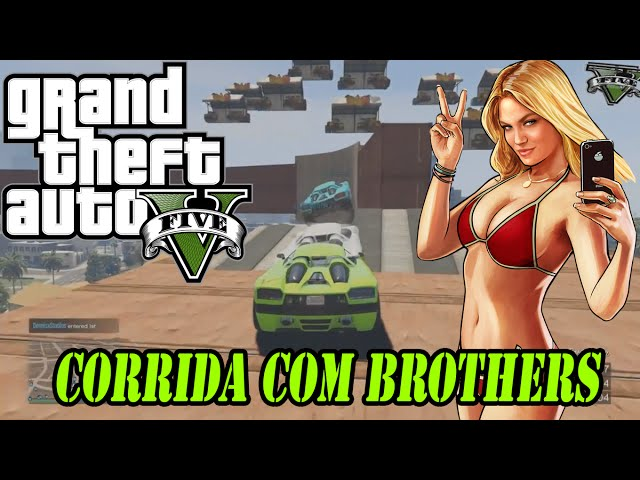 GTA 5 Gameplay Comentado - lindos Wallrides
