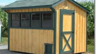 Diy Building A Chicken Coop - Low Cost Chicken House Concept And Ideas {hd}