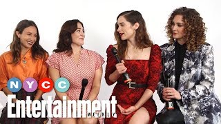 Wynonna Earp's Dominique Provost-Chalkley, Melanie Scrofano & More | #NYCC19 | Entertainment Weekly