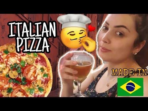 IS IT BRAZILIAN PIZZA? - ITALIAN PIZZA in MADE IN BRAZIL