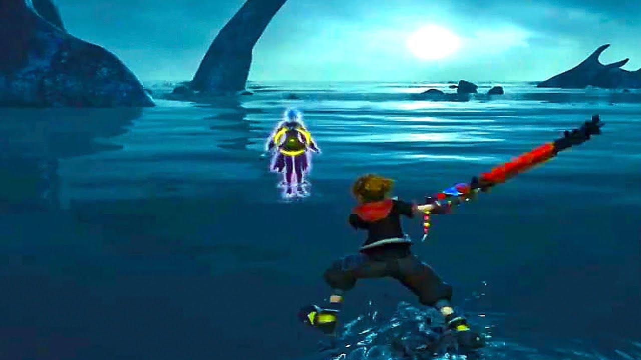 Kingdom Hearts 3 - NEW Gameplay Demo (TGS 2018)