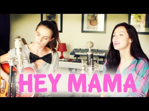 Hey Mama - David Guetta ft. Nicki Minaj live cover by Ana Free ft. Marié Digby