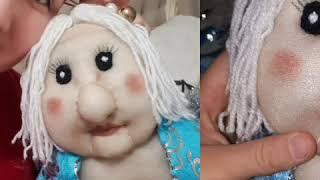Кукла из капрона , Мультик. Мастер класс. Игрушка своими руками на день рождения или не знаю