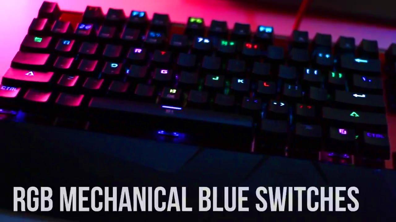 10daf1e9239 Affordable iBUYPOWER MEK2 PRO RGB Mechanical Keyboard - Blue Switches