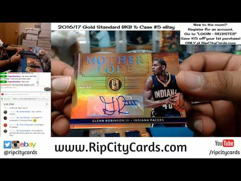2016 17 Gold Standard Basketball Half Case Break #5 eBay