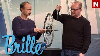 Brille  - Hvor vil hjulet bevege seg?