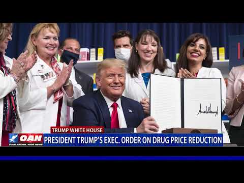 President Trump signs executive orders on drug price reduction