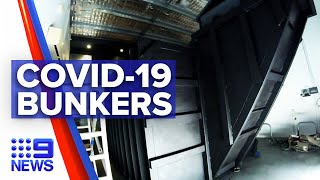 Coronavirus: Inside Queensland's underground COVID-19 bunkers | 9 News Australia