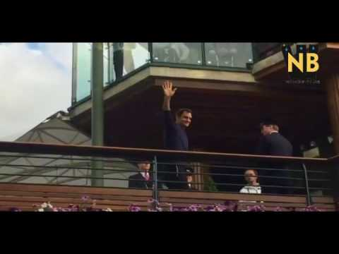 Roger Federer vs Marin Čilić Final Winning Moments Highlights