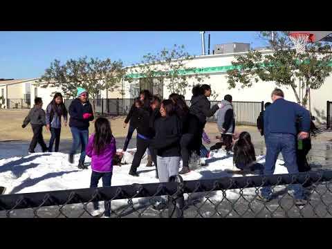 A Snow Day at Blackwater Community School-3rd Grade