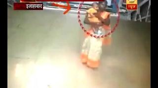 सनसनी: इलाहाबाद में चोरी हुआ ट्रेन | ABP News Hindi