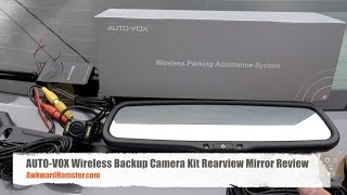 AUTO-VOX Wireless Backup Camera Kit Rearview Mirror Review