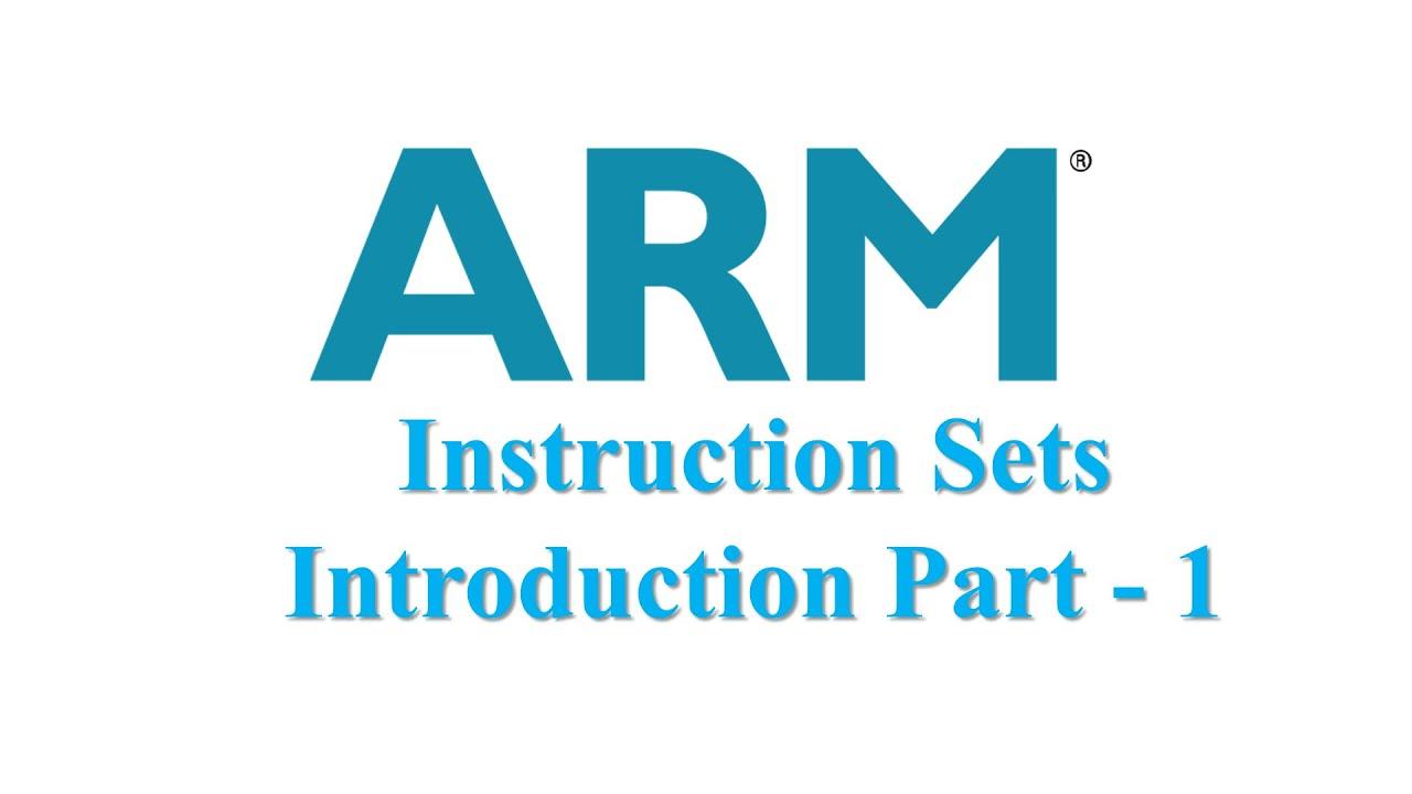Arm Instruction Set Part 1 Youtube