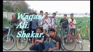 Gambar cover waqas king And Ali King Mindblowing video of wheeling open chaalenge in whole ssahiwal