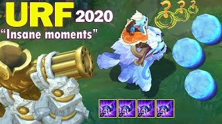 ARURF Insane Moments 2020 (Ivern + Yuumi Best Combo URF, URF Nunu bug...)