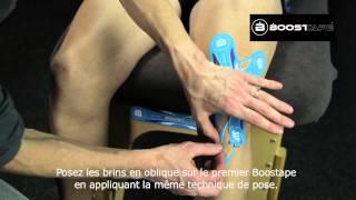 Boostape - Apaiser le genou quand il est gonflé