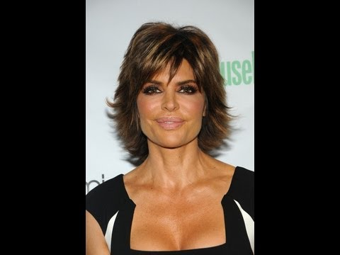 Celebrity Haircut Lisa Rinna Youtube