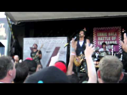There For Tomorrow -Intro + A Little Faster Live Warped Tour 2011