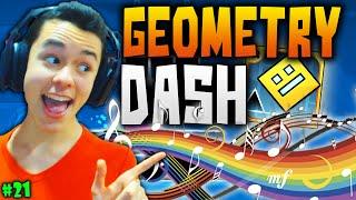 Geometry Dash! ♪ LA MÚSICA ES LA MALDITA CLAVE ♫ #21 - TheGrefg
