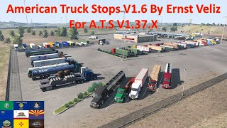 link : https://sharemods.com/hxdzy94mufm5/American_Truck_Stops_V1.6_By_Ernst_Veliz.rar.html  https://forum.scssoft.com/viewtopic.php?f=202&t=284149