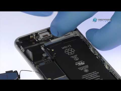 iPhone 6s Lightning Connector and Headphone Jack Replacement - RepairsUniverse