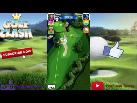 Golf Clash tips, Hole 8 - Par 4, California Classic - PRO/EXPERT - Guide/Tutorial