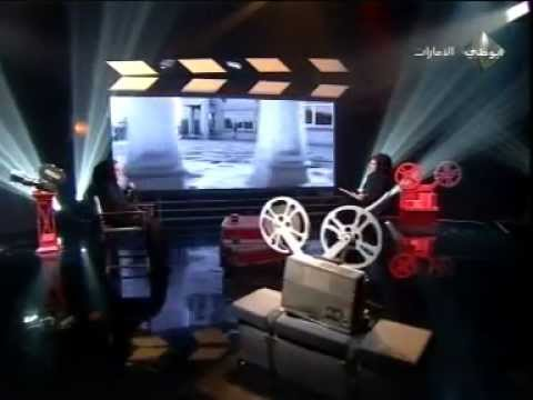 Abu Dhabi TV interview Actor Ghassan Al Katheriالممثل غسان الكثيري and Nayla Al Khaja for Malal Film