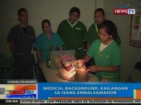 NTG: Eskwelahan sa Makati City, tutok sa pagtuturo ng pagiging embalsamador