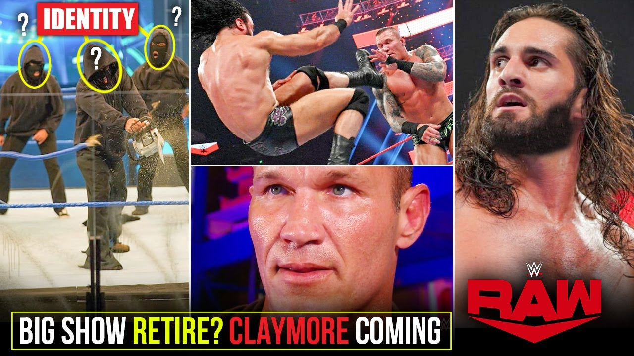 Retribution MEMBERS IDENTITY🤠? A Claymore Coming for RKO, Seth's REVENGE - WWE Raw Highlights