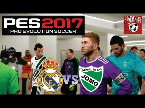 PES 2017 Real Madrid vs JOMO Copa Intergálactica