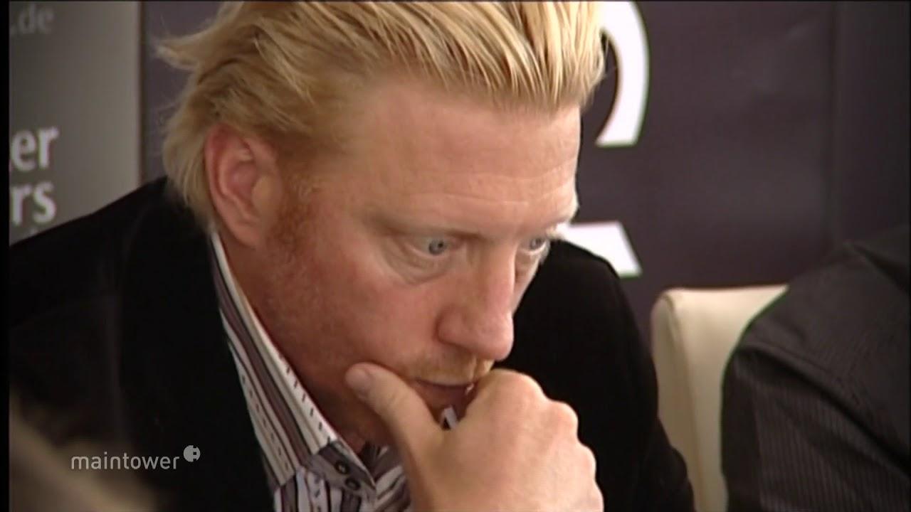 Boris Becker in Frankfurt