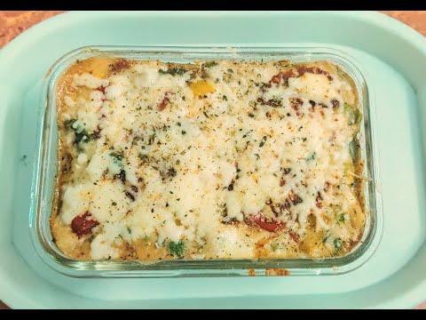 Vegetable Lasagna in LOCKDOWN!!! (Whole Wheat)