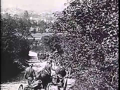 Pershing's Crusaders (WWI Silent Film, 1919)