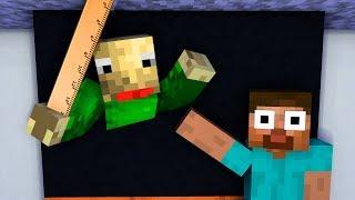 Monster School : BALDI'S BASICS BECAME VILLAIN EVIL - Minecraft Animation