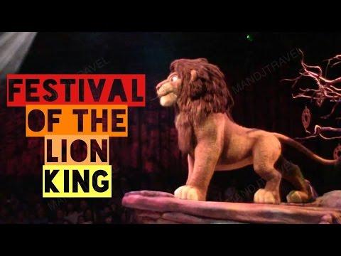 Festival of The Lion King - Animal Kingdom (2015) FULL SHOW (Simba   Timon   Pumbaa)